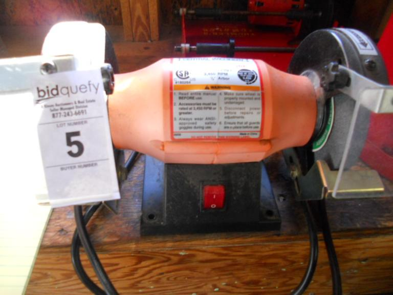 "Central Machinery 5"" Bench Grinder"